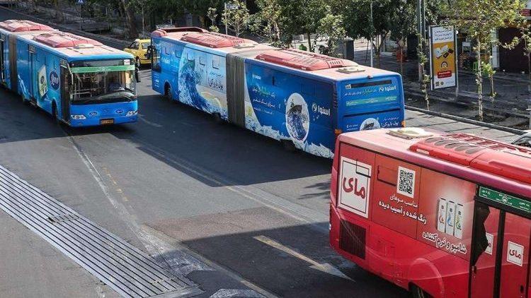 تبلیغات اتوبوس تبلیغات شهری آلودگی بصری